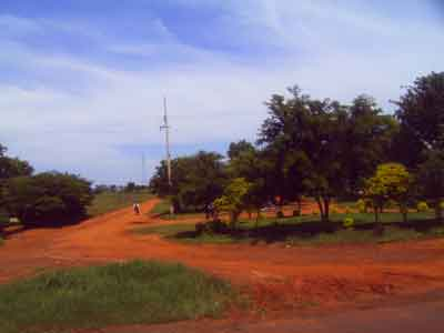 Paraguay, red soil
