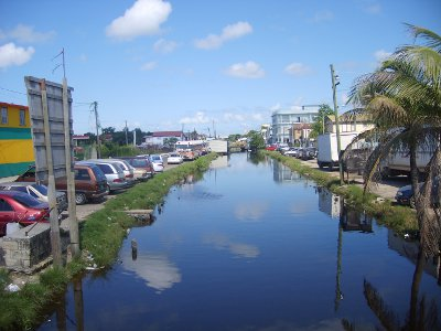 Belize City - Collett Canal