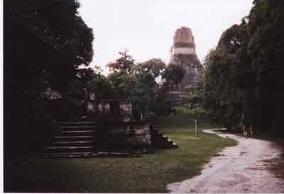 Templo I (main temple) in Tikal National Park