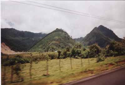 Mountains between Cobán and El Rancho