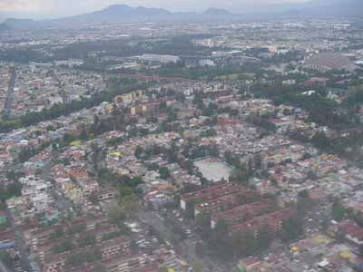 Another air view of Mexico City