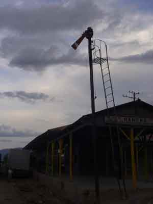 Old signal in El Rancho